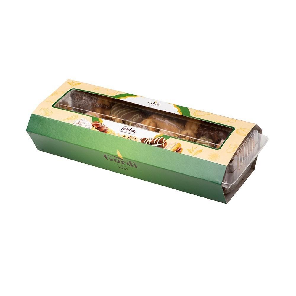 Tandem miks pakovanje - mešavina punjenog čajnog peciva, ambalaža